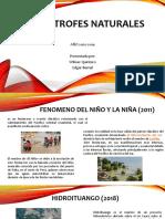 Catastrofes 2002-2019