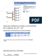 Pre Del Analisis Hidraulico Intalacion de Valvula de 24 y 20