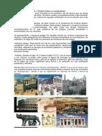 Aportes de Grecia y Roma Para La Humanidad