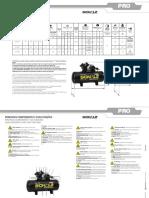 Manual Compressor Pistao Schulz Pro CSV 10 100 025.0949 0 Rev.06 Ago 18 025.0940 0 Rev.14 Mai 18 Trilingue