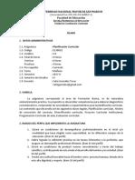 4 Planificación Curricular - González UNMSM