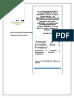 Antologia de La Asignatura Formación Ëtica y Profesional.