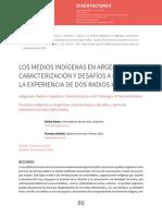 Los medios indigenas en Argentina. Experiencias de dos radios kollas