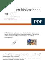 Circuito Multiplicador de Voltaje PPT