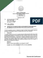 Bexar County DA opinion on Michelle Barientes Vela