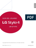 LG Stylo 4 User Guide ES