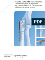 Técnica quirúrgica LCP para olecranon