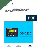 Manual de Operación 5220-2