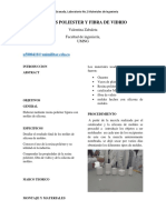 Resinas Poliester y Fibra de Vidrio