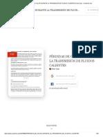 (PDF) Pérdidas de Calor Durante La Transmisión de Fluidos Calientes 1