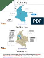 mapa de colombia pra ppt