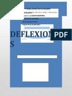 deflexiones