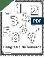grafomotricidad de numeros