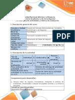 Guía de Actividades y Rúbrica de Evaluación - Paso 2 - Propuesta Idea de Negocio