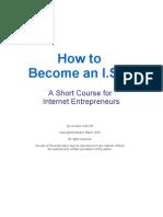 Becoming an Internet Entrepreneur