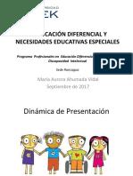 Historia de la Ed. diferencial en Chile