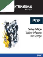Catalogo de Peças Mwm Sprint 2.8 Mecanica