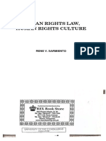 Human Rights Law - Sarmiento