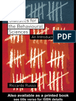 Riccardo Russo - Statistics for the Behavioural Sciences_ An Introduction-Psychology Press (2003).pdf