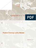 Product Training_Lodha Maison