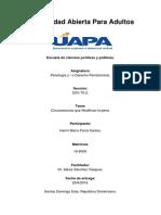 Tarea IV de Penologia y o Derecho Penitenciario. (6)