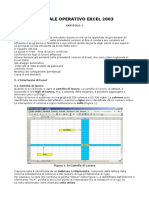 Manuale Excel 2003
