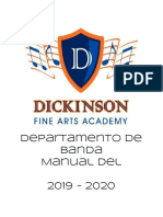 translated copy of band handbook 2019 - 2020