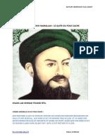 Le Qutb Caché Cheikh Hamallah