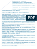 Resumen Derecho Procesal Administrativo II