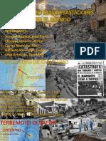 SISMOS MAS DEVASTADORES DE LA HISTORIA