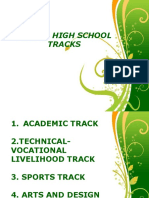 Senior High School Tracks