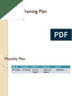 APO Trainning Plan