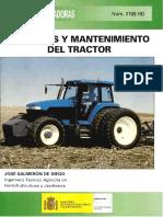 mantenimiento de un tractor