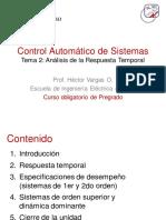 control automatico de sistemas