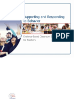 supporting and responding to behavior