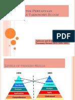 Bentuk-Bentuk Pertanyaan Berdasarkan Taxonomy Bloom.pptx