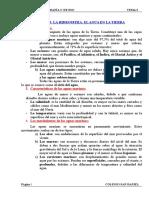 TEMA 3. LA HIDROSFERA. EL AGUA EN LA TIERRA.doc
