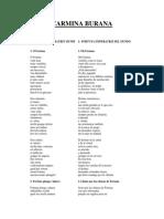Carl Orff - Carmina Burana (Texto)