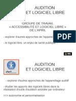 audition et logiciel libre