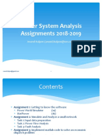 Power System Analysis Assignments 2018_2019