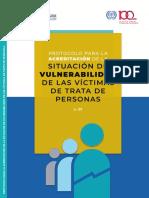 Protocolo Para La Acreditación de La Situación de Vulnerabilidad De