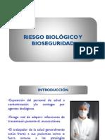 Riesgo biol+¦gico y bioseguridad