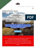 Geführte Enduro Touren Georgien » Beste Geführte Touren 2019