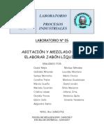 366823410 Informe de Laboratorio Agitacion y Mezclado Para Elaborar Jabon Liquido