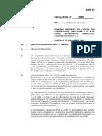 Circular Dirección de desarrollo Urbanístico (CHile)