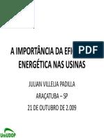 A Importância Da Eficiência Energética Nas Usinas