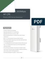 AP CPE 210 Datasheet-E