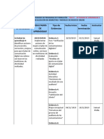 Cronograma Fase 4 Actividad Aprendizaje 9 (Proyecto Integrador 4)