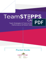 TeamSTEPPS Canada Pocket Guide