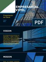 modelo de presentacion empresarial